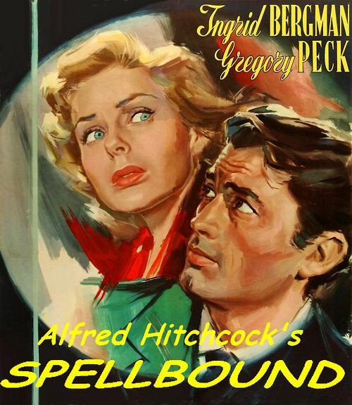 "Gregory Peck and Ingrid Bergman in ""Spellbound"""