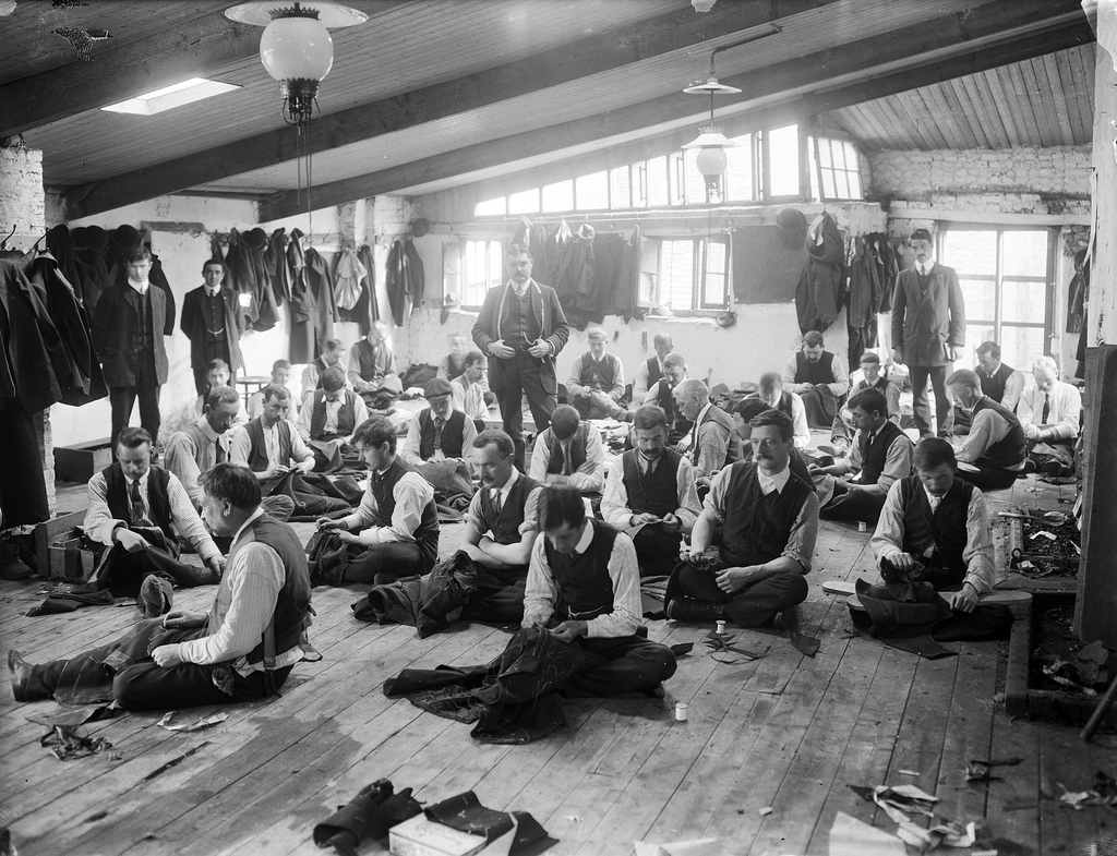 Sweat Shop in NYC,1906