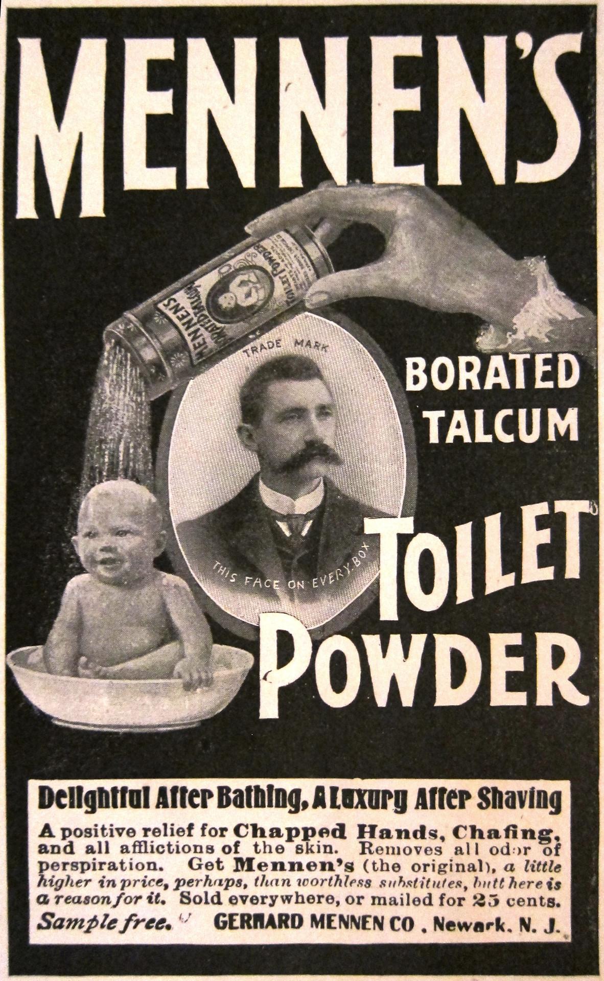 Mennen's Talcum ToiletPowder