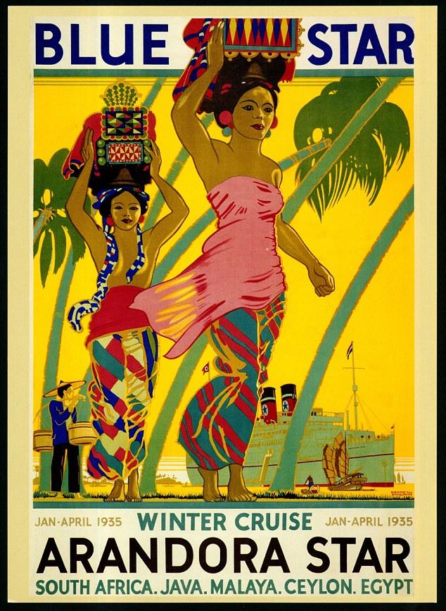 Winter 1935 cruise on the ArandoraStar