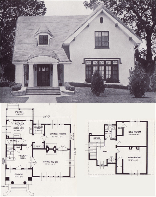 1920s 1930s house plans matthew 39 s island of misfit toys for Old home plans