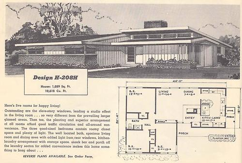 1950s house plans matthew s island of misfit toys