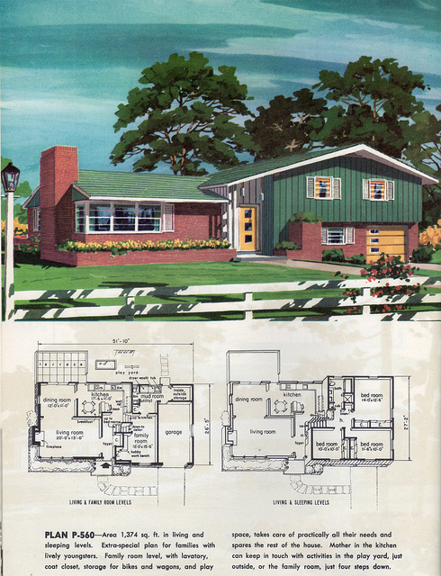 1950s House Plans Matthews Island of Misfit Toys