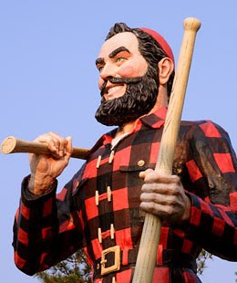 The man, the myth: Paul Bunyan