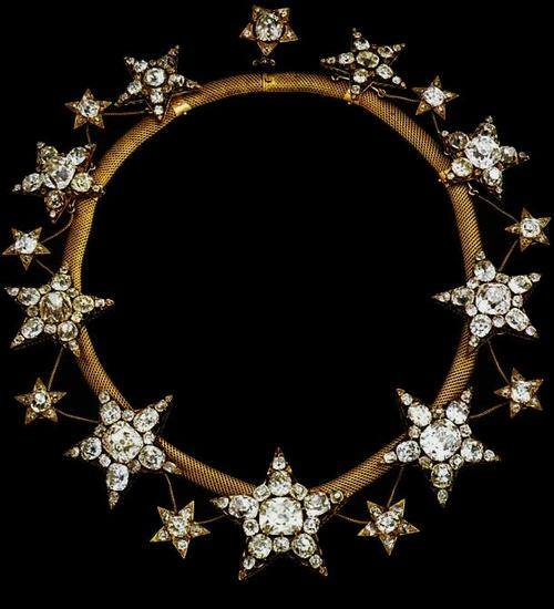 The Queen of Portugal's diamond starnecklace