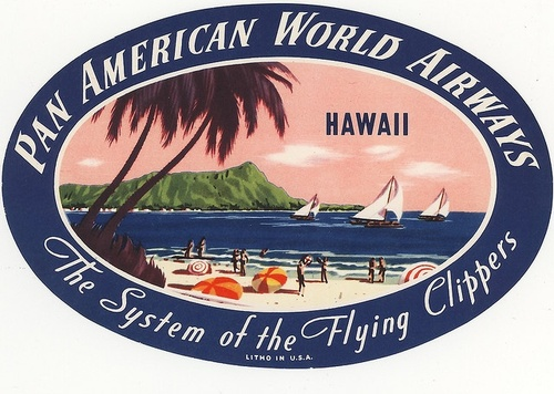 Hawaii via Pan Am Flying Clipper