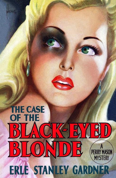The Case of the Black EyedBlond