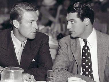 Randolph Scott and CaryGrant