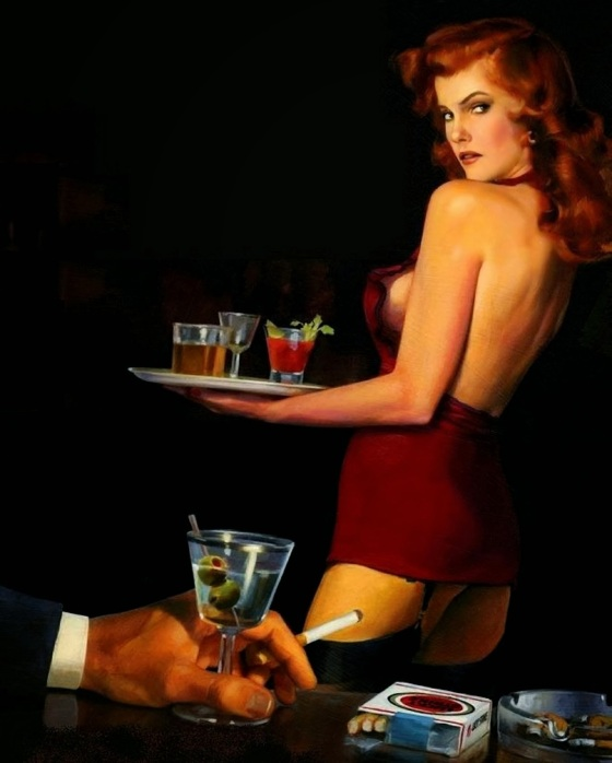 cocktail waitress 3