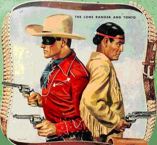 The Lone Ranger andTonto