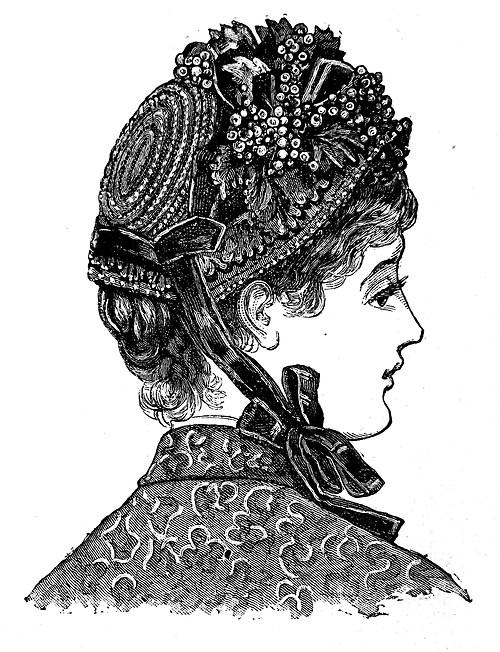 ... hats 1880s ladies 502 b1929576e2f