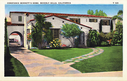 homes of the stars 1930s 507