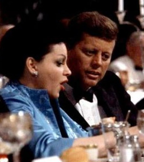 Judy Garland and JFK