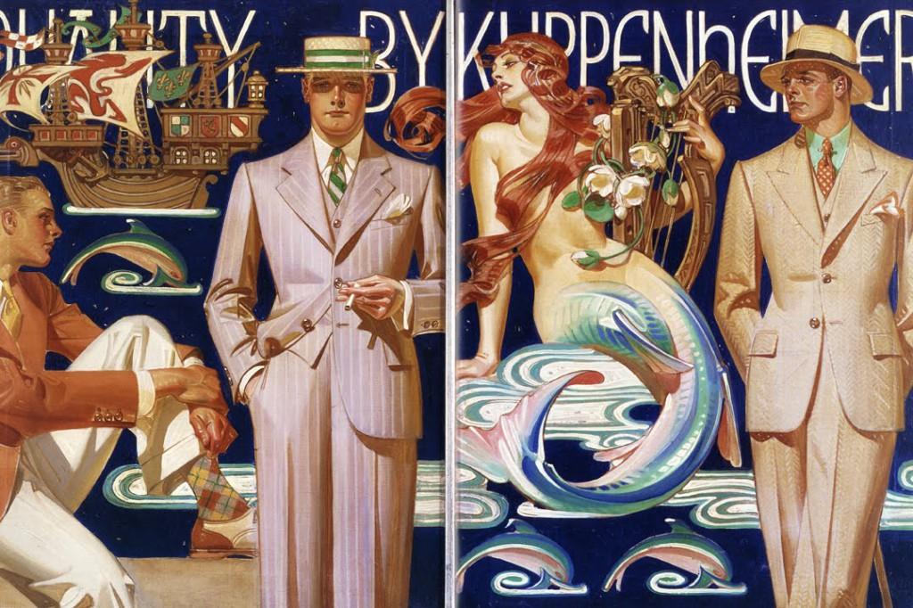 Leyendecker illustration for KuppenheimerClothes