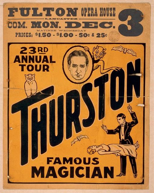 magician thurston poster000