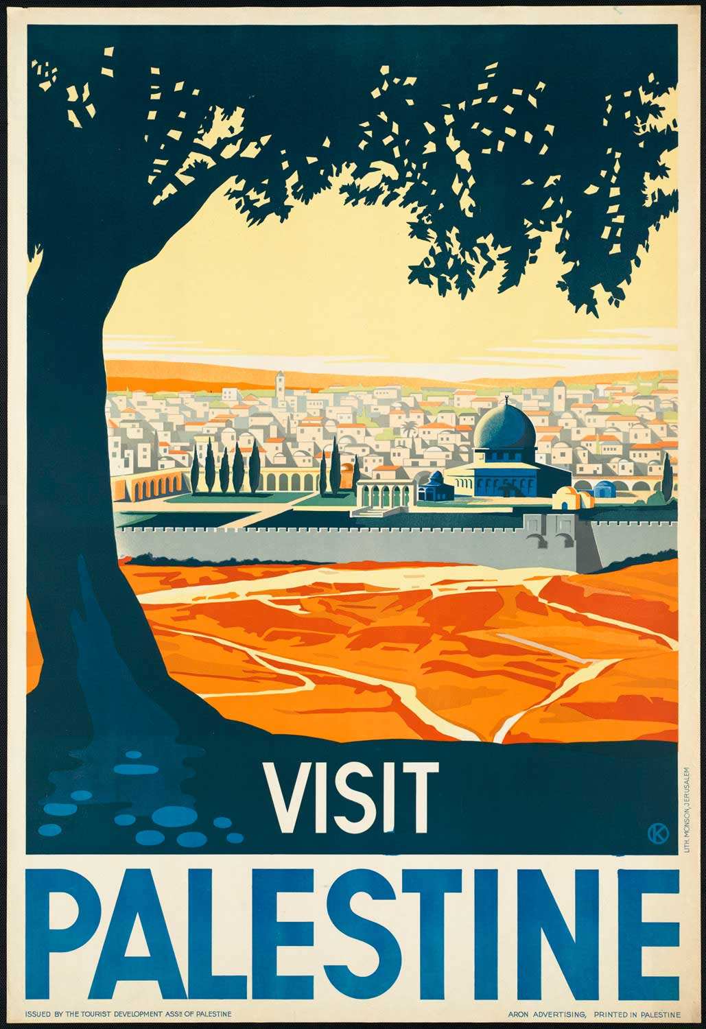 Visit Palestine, obviously pre-1948