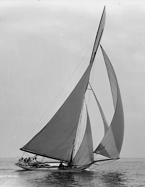 Sailboat, 1891
