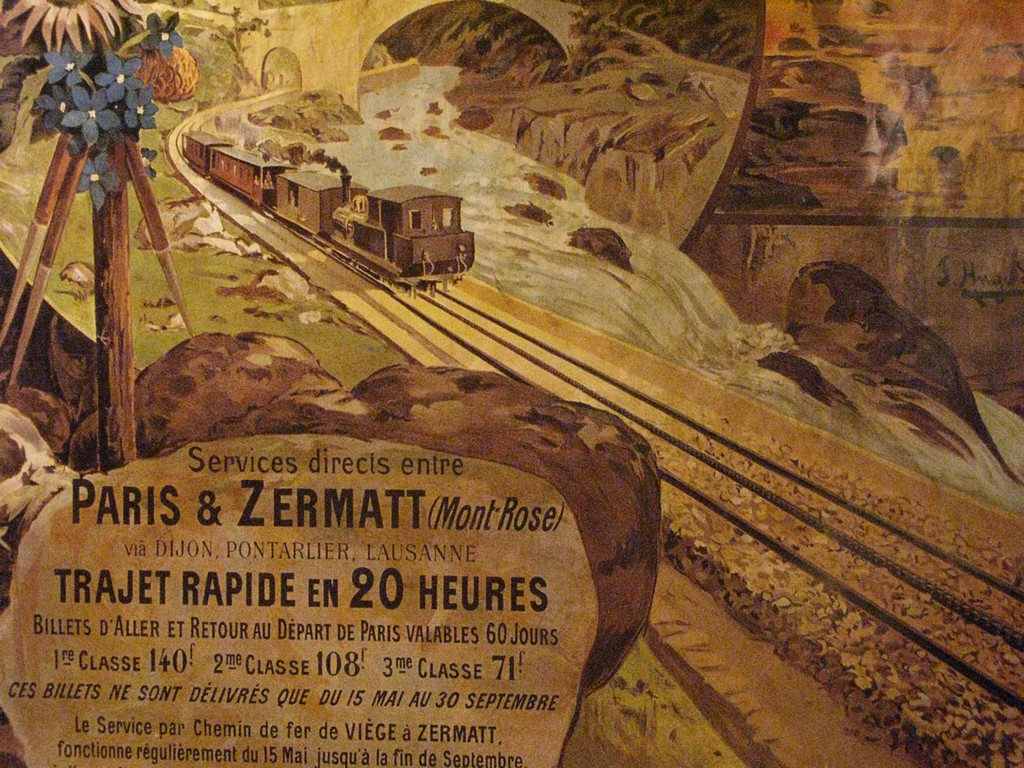 Services directs entre Paris &Zermatt