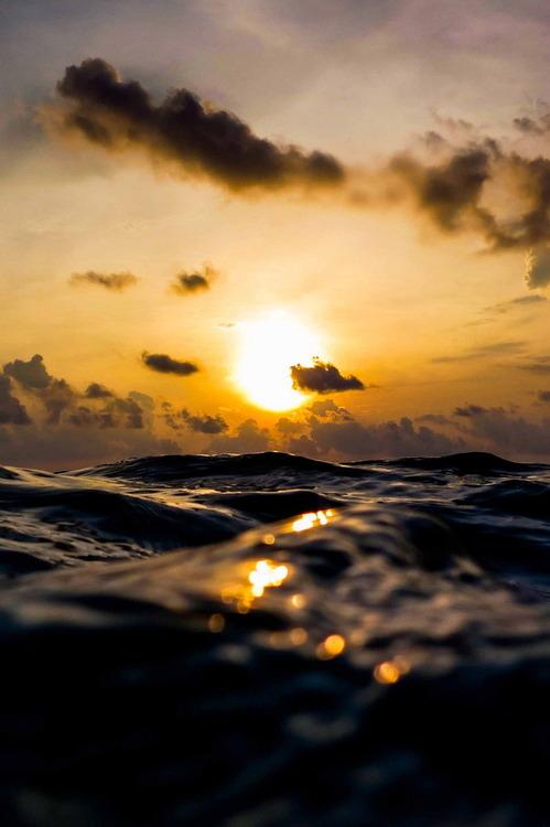 At sea level