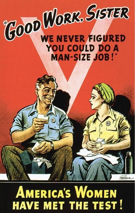 propaganda and women during essay Propaganda to mobilize women for the need for working women government propaganda during world war ii was responsible for much of the change in society's.