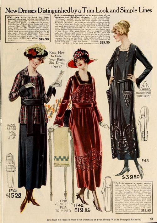 1919-20 WOMEN'S CLOTHING 501