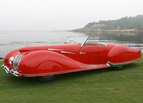 1930 delahay 135 MS cabriolet