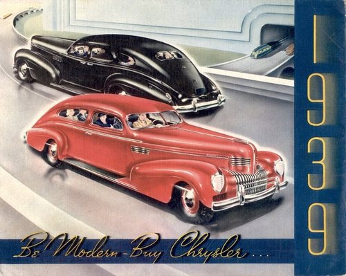 1939 Chrysler… Be modern