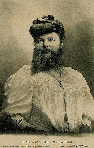 Madame Delait, Femme Barbe/Bearded Lady