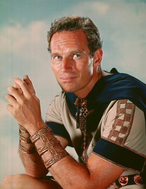 "Charlton Heston in ""Ben-Hur"""