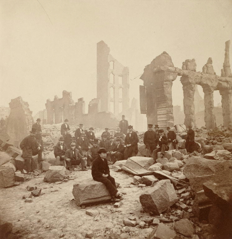 Chicago, 1872, after the Great Fire