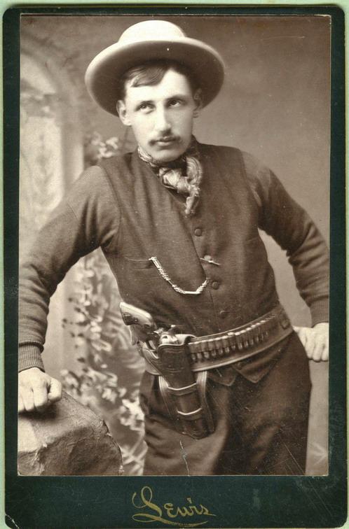 Genuine cowboy, 1800s