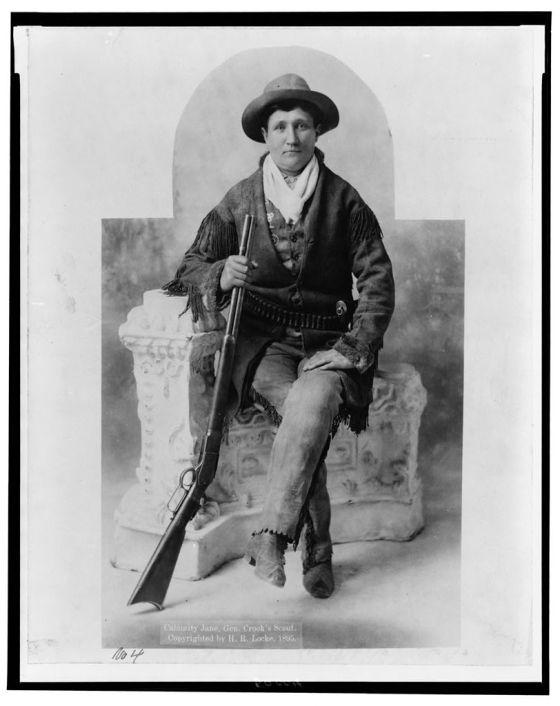 cowgirl calamity jane
