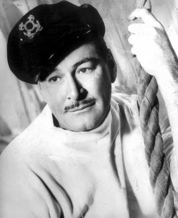 Errol Flynn as a sailor