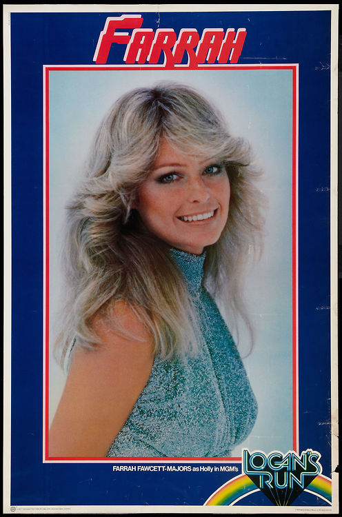 "Farrah Fawcett poster for ""Logan's Run"""