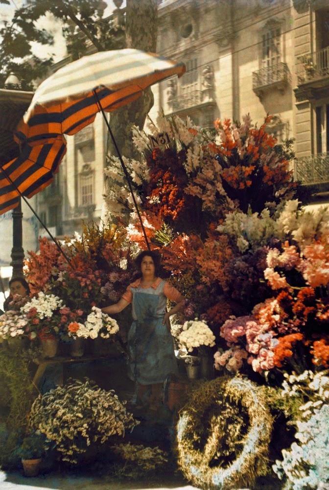 Flower Stand, Barcelona,1929