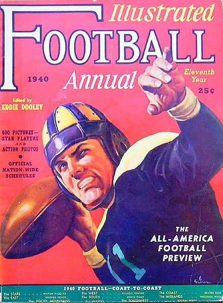 Illustrated Football Annual, 1940