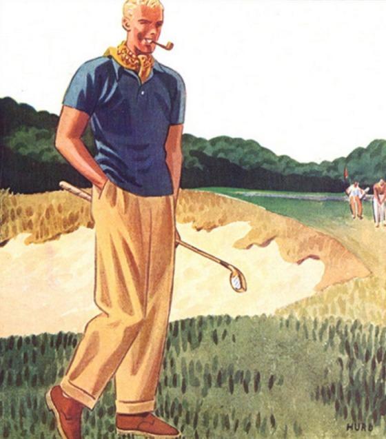 golf wear 30s 1