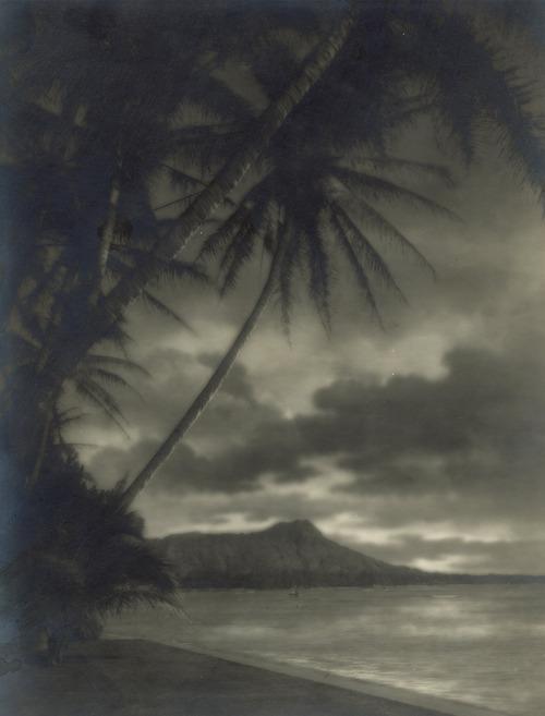 Diamond Head, Honolulu,1920s