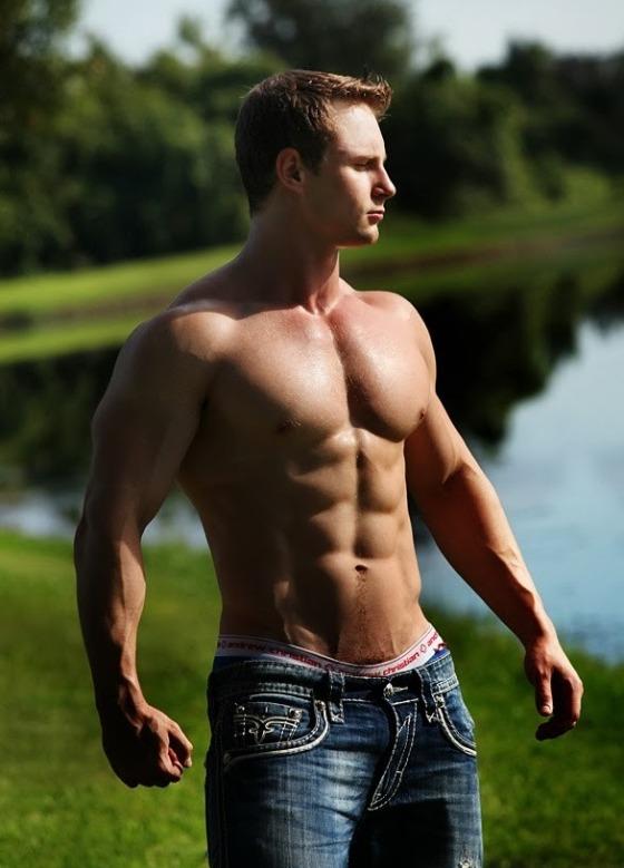 foto de Gratuitous Shirtless Men in Jeans Matthew's Island of