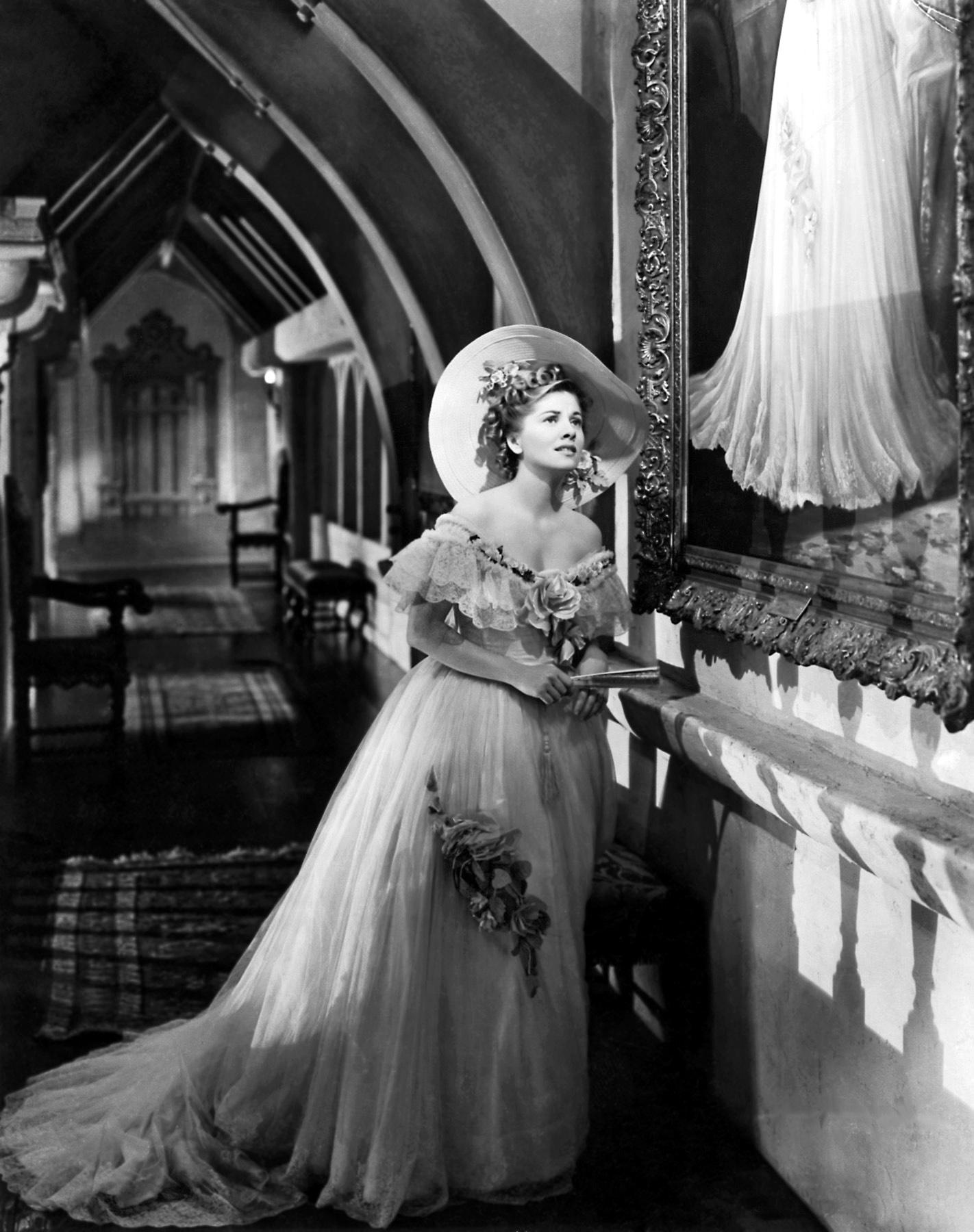"Joan Fontaine in ""Rebecca"""