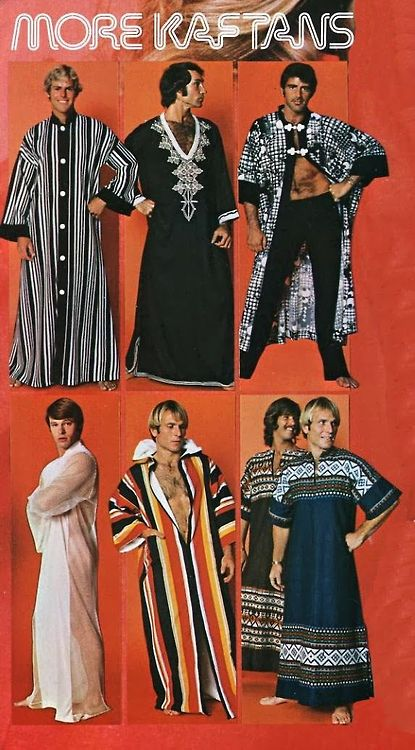 It's getting chilly out again in the evenings – time to break out the kaftans, bitches!