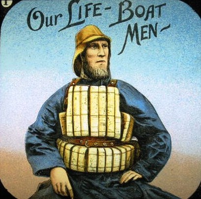 lifeboat men