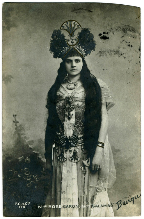"""Madame Rose Caron dans """"Salambo"""""""
