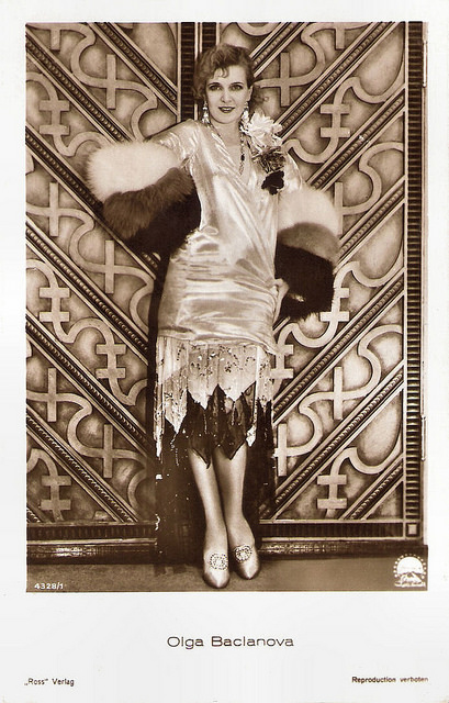Russian silent film star OlgaBaclanova
