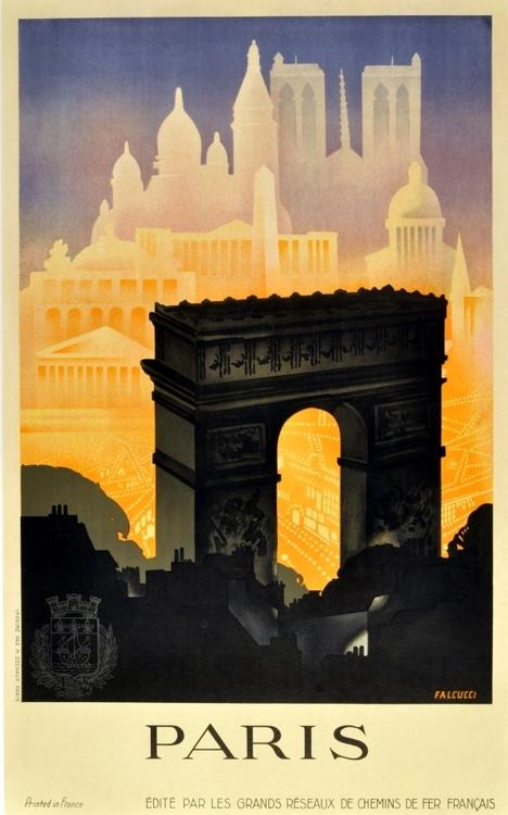 paris 30s poster
