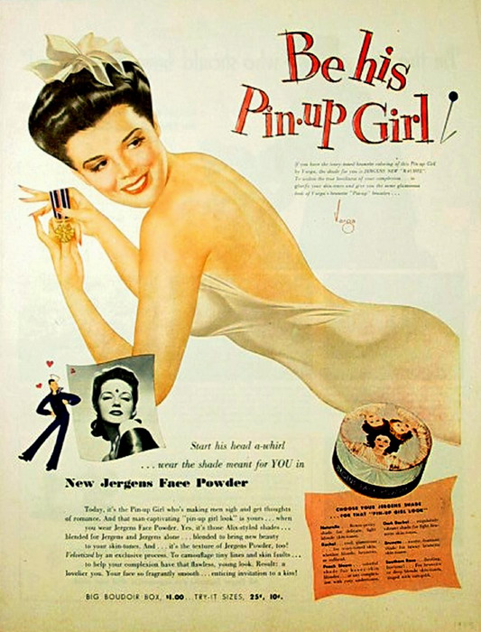 Be His Pin-Up Girl
