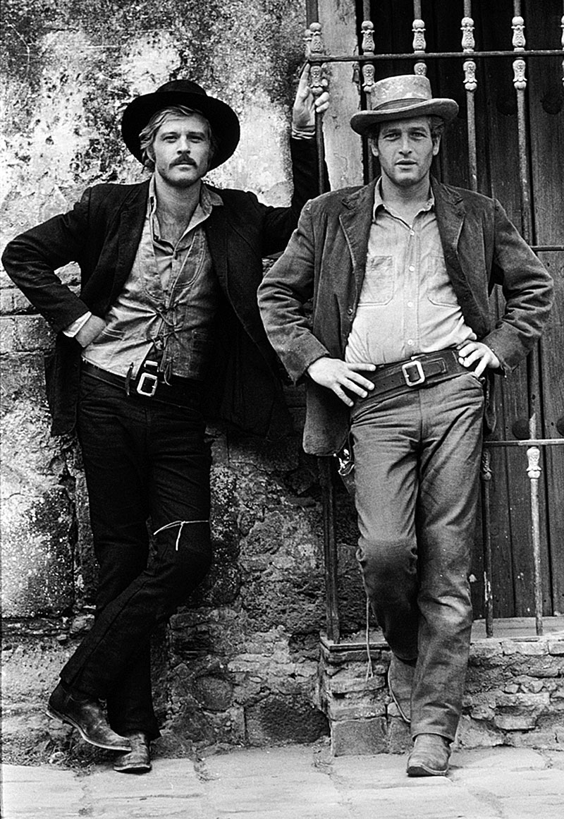 "Robert Redford and Paul Newman in ""Butch Cassidy and the Sundance Kid"""