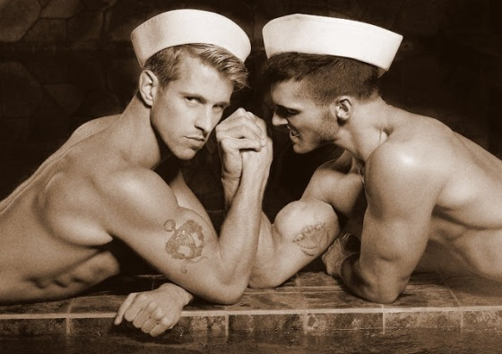 sailors together 064