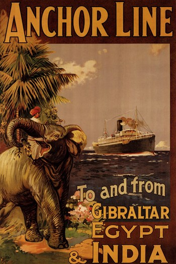Old Cruise LinePoster