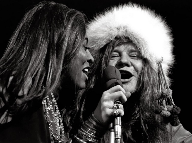 Tina Turner and Janis Joplin